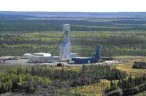 The Bell-Allard mine supplies ore to the Matagami concentrator.