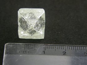 The 25-ct Tuzo diamond recovered from the Gahcho Kue project. (Photo: MOUNTAIN PROVINCE DIAMONDS)