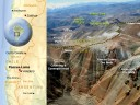 This diagram shows the proximity of the Pascua-Lama project to Barrick's Veladero mine. (Photo: Barrick Gold)