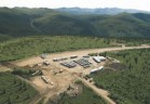 Access to Western Copper's Casino property is via a mountain-side runway that brings workers and supplies right to the base camp and to within a few hundred meters of where the company plans to build a huge open-pit copper-gold reserve with a 30-year mine life.