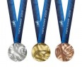 The medals awarded at the 2010 Vancouver Olympic Games are the first to contain metals recovered from end-of-life electronics. Teck supplied 2.05 kg of gold, 1,950 kg of silver and 903 kg of copper. (Photo: CANADIAN OLYMPIC COMMITTEE)
