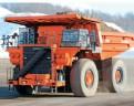 Hitachi electric drive haul truck.