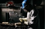 Dore bars from the Red Lake mill are between 800 and 925 fine gold.