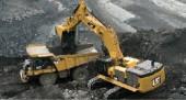 Cat 390D L hydrulic excavator.
