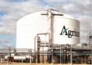 The Agrium logo can be seen around the world.