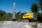 The first SmartROC T40 drill rig with silencer is to be delivered in Canada.