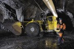 Elgin Mining has initiated a major revamp of its underground mining plan and technology, including remote ore handling, in its underground expansion at its Bjorkdal project in Sweden. Photo: Elgin Mining Corp.