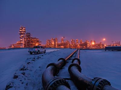 The Kearl oil sands project.