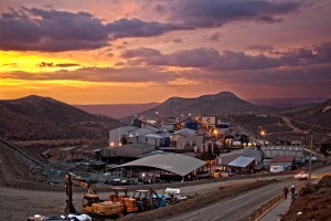 Capstone's Cozamin mine in Mexico enjoys a picturesque setting.