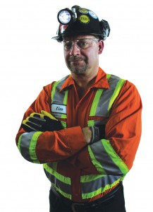 Tim Hidds, Nickel Rim South's general foreman maintenance