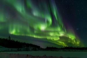 The Aurora Borealis.