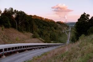Joy overland conveyor, West Virginia.