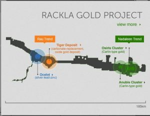 ATAC's Rackla gold project.