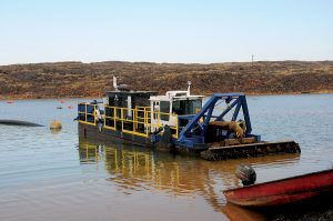 Dredging and dewatering tailings ponds is not a new technology but it`s becoming increasingly popular as more and more miners look at recycling because of the environmental, and profit factors