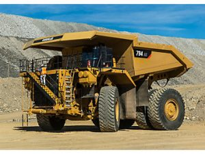 Cat's new 794 AC a versatile performer.