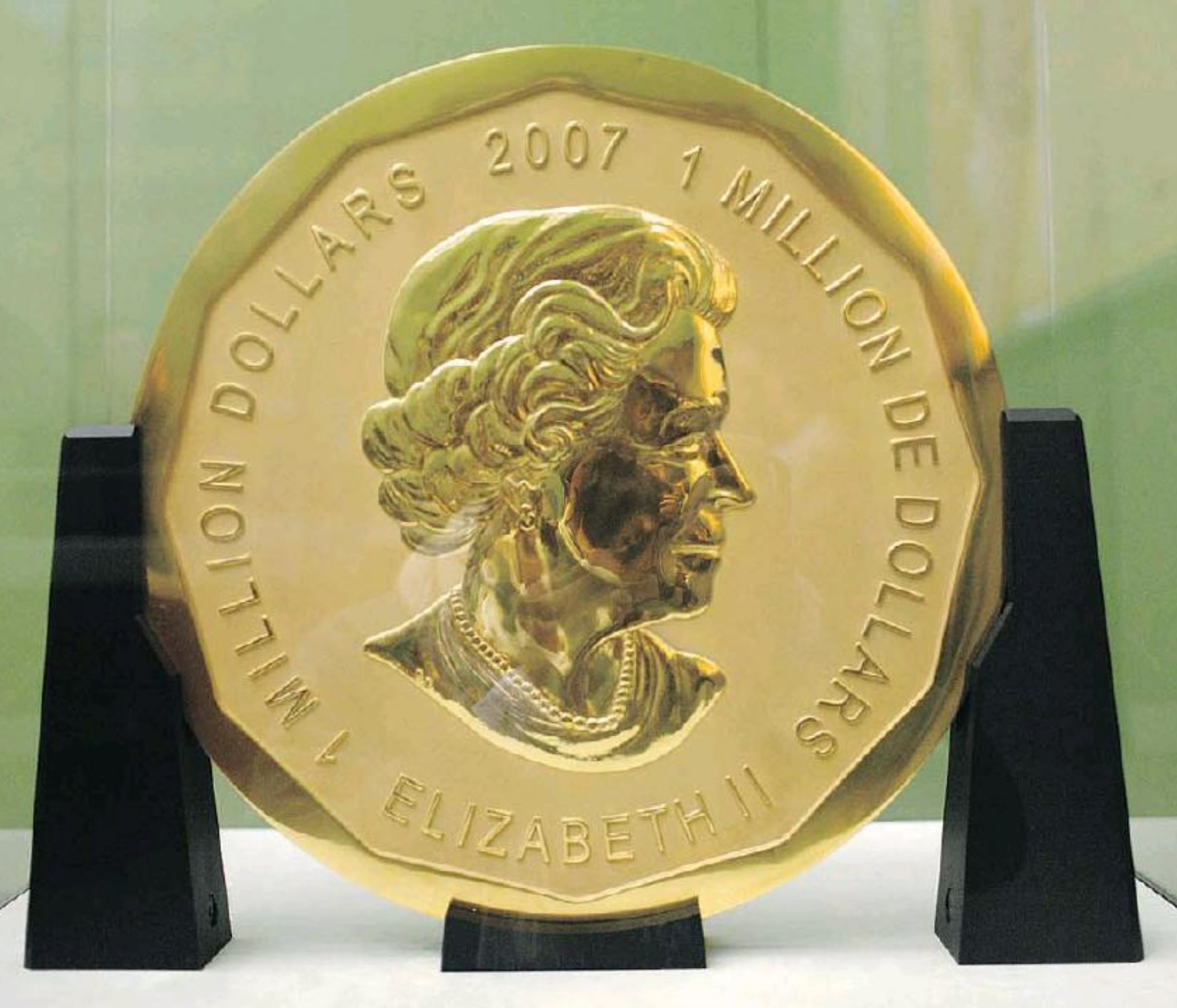 Theft 100 Kg Solid Gold Coin Goes Missing From Museum