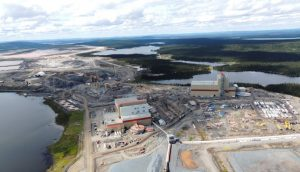 The Bloom Lake iron ore mine in Quebec.