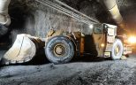 A loader in Hecla Mining's Casa Berardi underground gold mine in Quebec. Credit: Hecla Mining