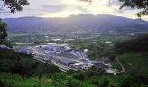 Overview of the Escobal mine facing west, with San Rafael las Flores in background. Credit: Tahoe Resources