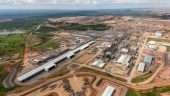 An aerial view of the processing plant at the Tenke Fungurume project in 2015. Credit: Freeport-McMoRan.