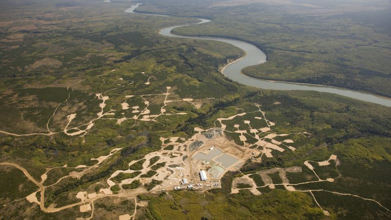 Aerial view of Star-Orion diamond project