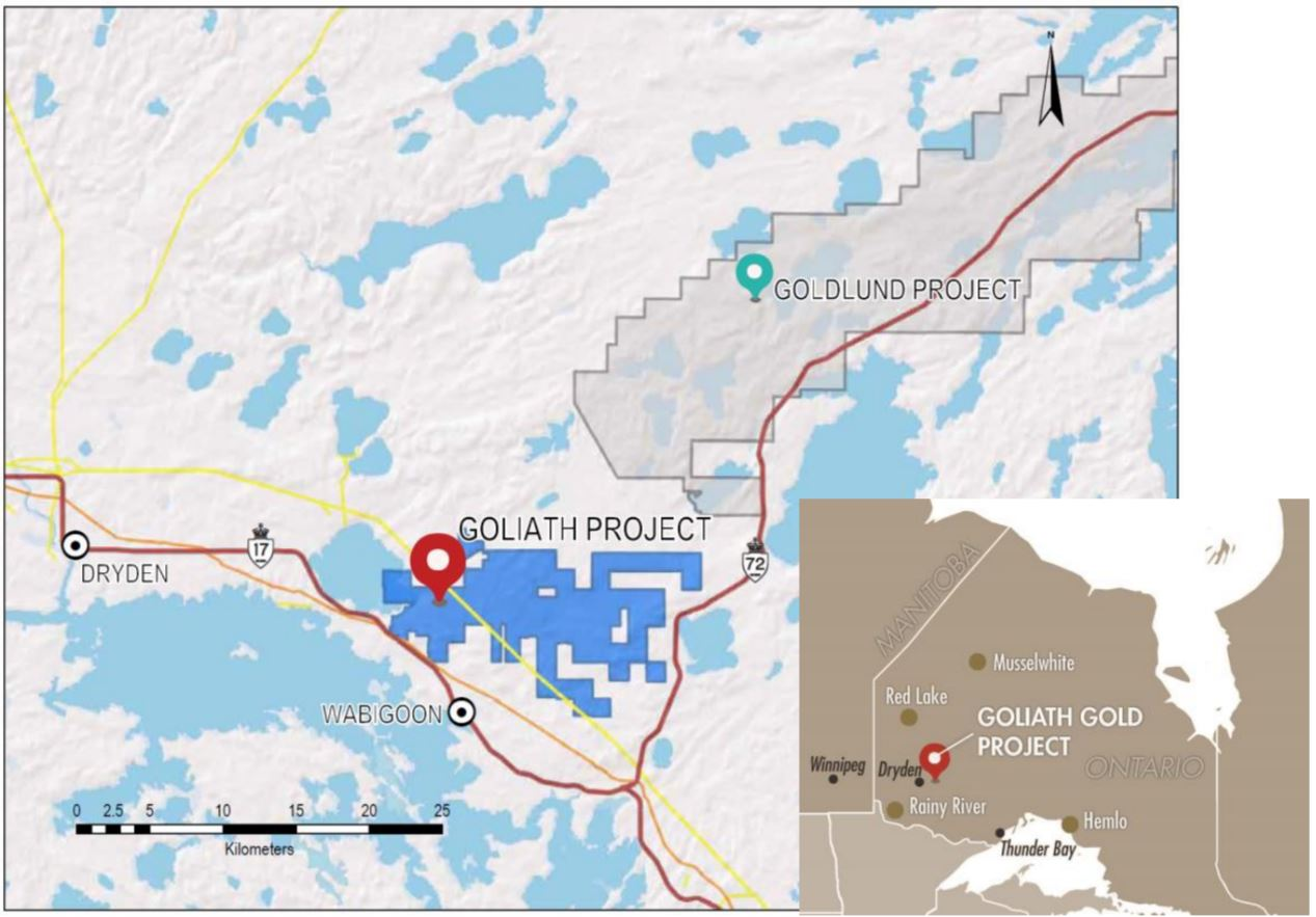 Gold Treasury Metals Metis Sign Agreement Covering