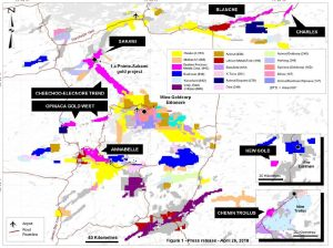 Map Of Canada James Bay.Gold Goldcorp Invests In New Explorer In The Eeyou Istchee James