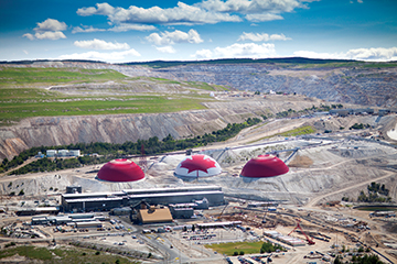 Teck's Highland Valley Copper mine, in B.C. CREDIT: TECK