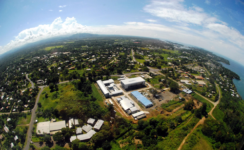The Ramu nickel mine Madang office complex in Papua New Guinea. Credit: Ramu Nico Management Ltd.
