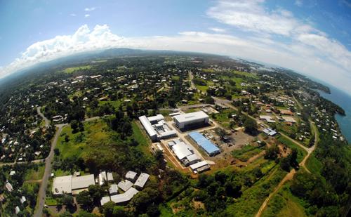 The Ramu nickel mine Madang office complex in Papua New Guinea. Credit: Ramu Nico Management Ltd.