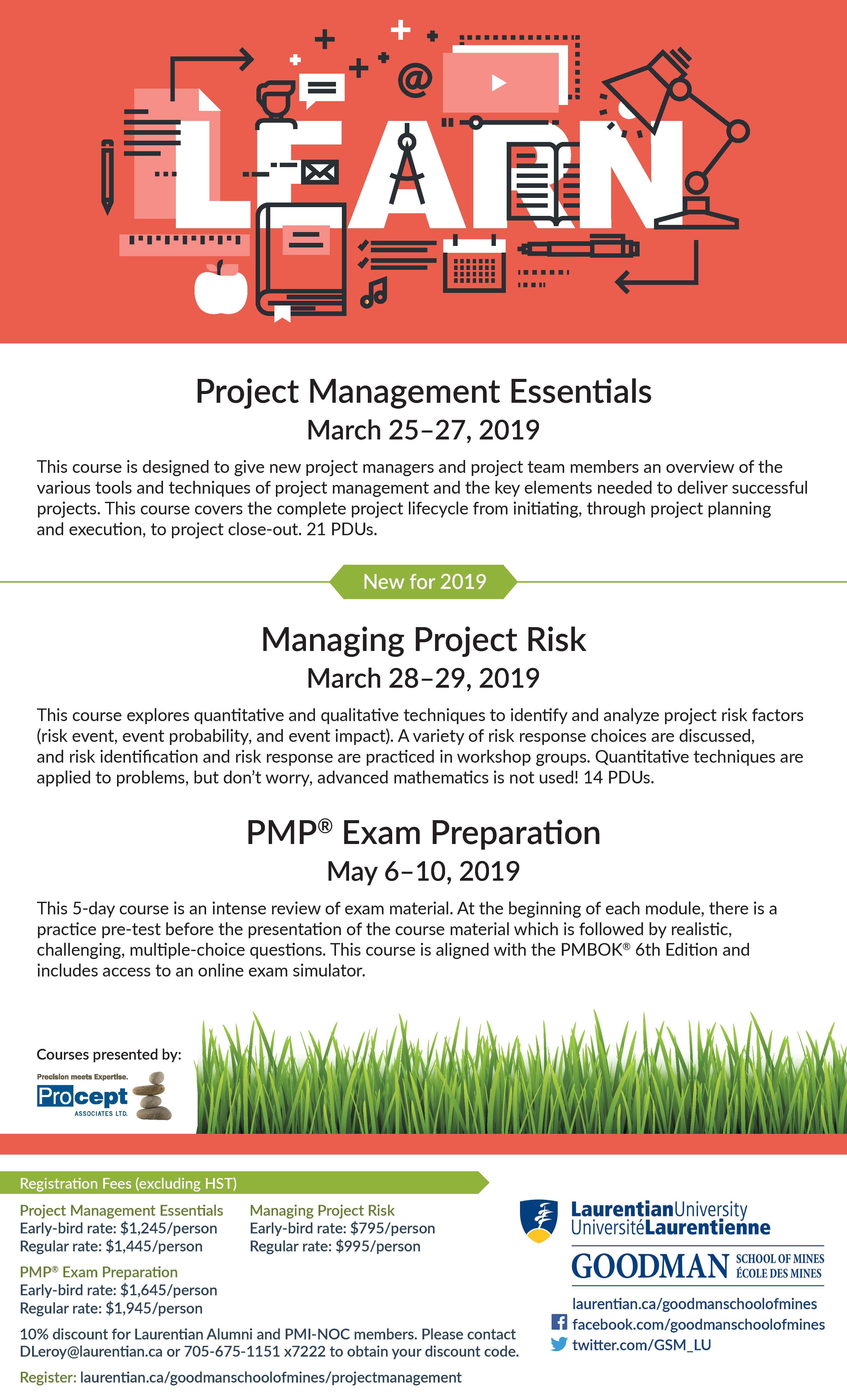 Project Management Course Pmp Exam Preparation Canadian Mining