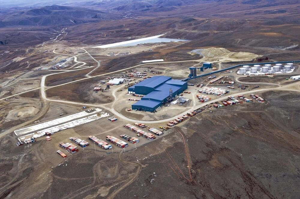 Kinross Gold's Kupol mine in Russia's Far East. Credit: Kinross Gold