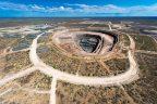 Lucara Diamond's Karowe diamond mine in Botswana. Credit: Lucara Diamond