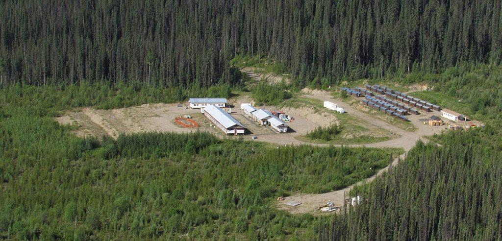 The Akie exploration camp in northwestern B.C. Credit: ZincX Resources