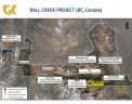 Ball Creek and Hank properties Credit: Golden Ridge