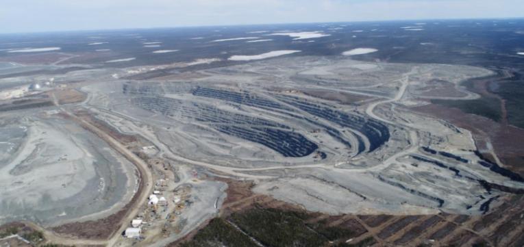 The Detour Lake mine site Credit: Detour Gold