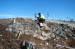 Exploration work at Troilus conducted in 2018 Credit: Troilus Gold