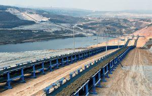 FLSmidth conveyor system at the Mae Moh lignite mine in Thailand. Credit: FLSmidth