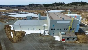 The refinery belonging to First Cobalt could become North America's only producer of cobalt sulphate. Credit: First Cobalt