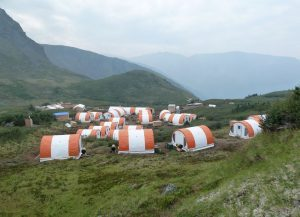 The exploration camp at GT Gold's Tatogga project in British Columbia Credit: GT Gold
