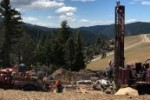 Drilling at the DeLamar gold-silver property in Idaho Credit: Integra Resources