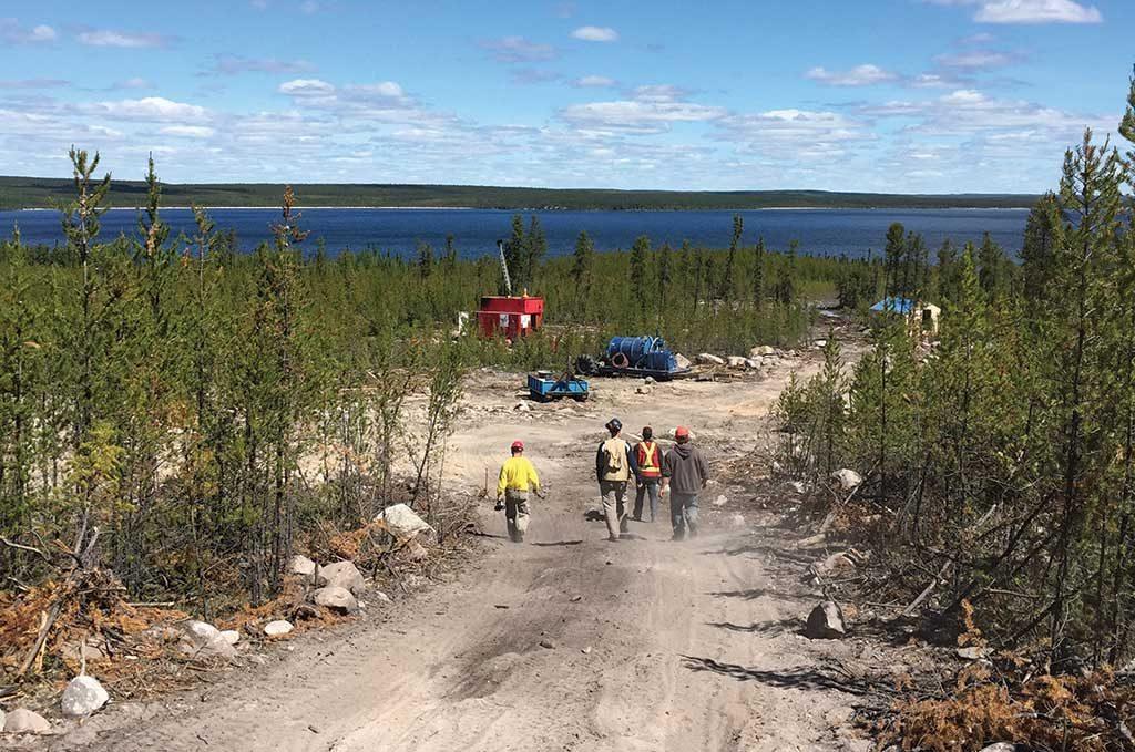 NexGen Energy's Arrow uranium deposit, at the Rook 1 property in Saskatchewan's Athabasca basin. Credit: NexGen Energy