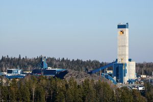 Alamos Gold's Young-Davidson mine in northern Ontario Credit: Alamos Gold
