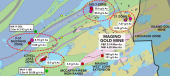 Magino deposit and exploration targets Credit: Argonaut Gold