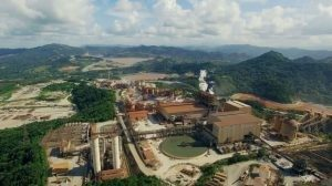 The site of the Pueblo Viejo mine and processing facilities Credit: Barrick Gold