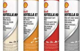 Shell Rotella greases. Credit: Shell