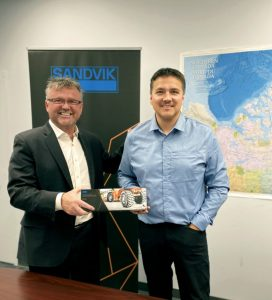 Sandvik's distribution partnership with Northern Networks Credit: Sandvik Mining
