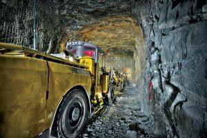 Underground equipment at Lamaque. Credit: Eldorado Gold