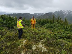 Eskay Creek geologists at work. Credit: Skeena Resources