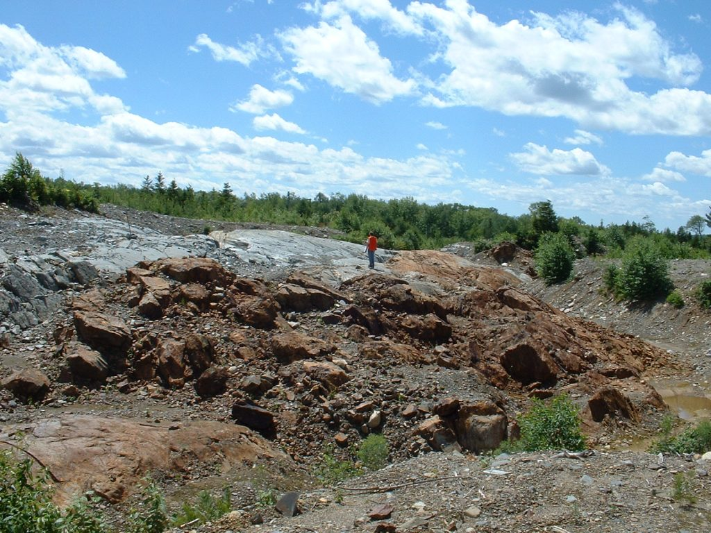 Galway Metals' Clarence Stream project in New Brunswick. Credit: Galway Metals